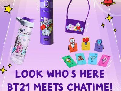 BT21 Merchandise Chatime Philippines