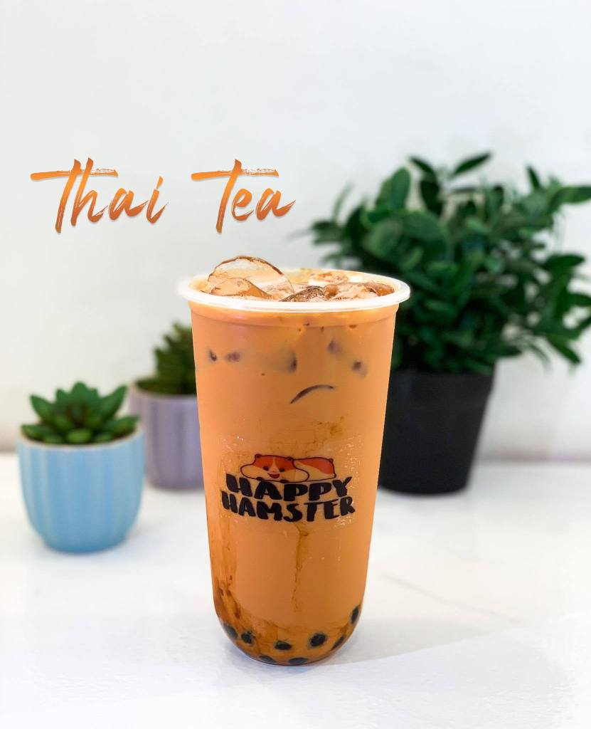 Happy Hamster Thai Tea