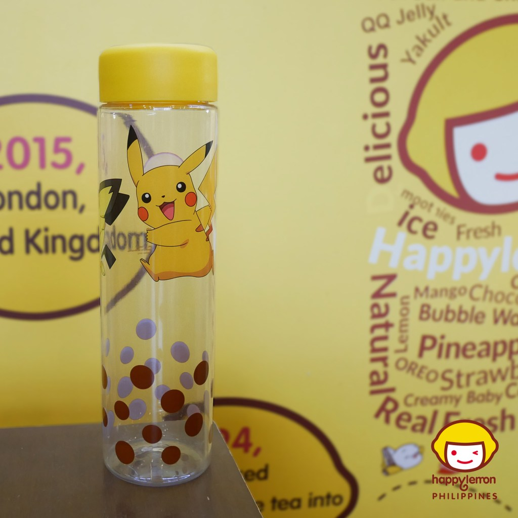 Happy Lemon Pikachu Tumbler for only 100 pesos