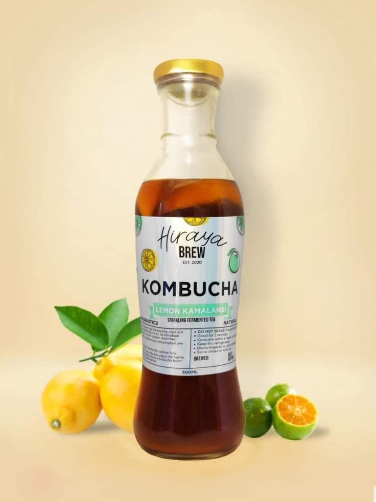 Hiraya Brew Lemon Kalamansi Kombucha