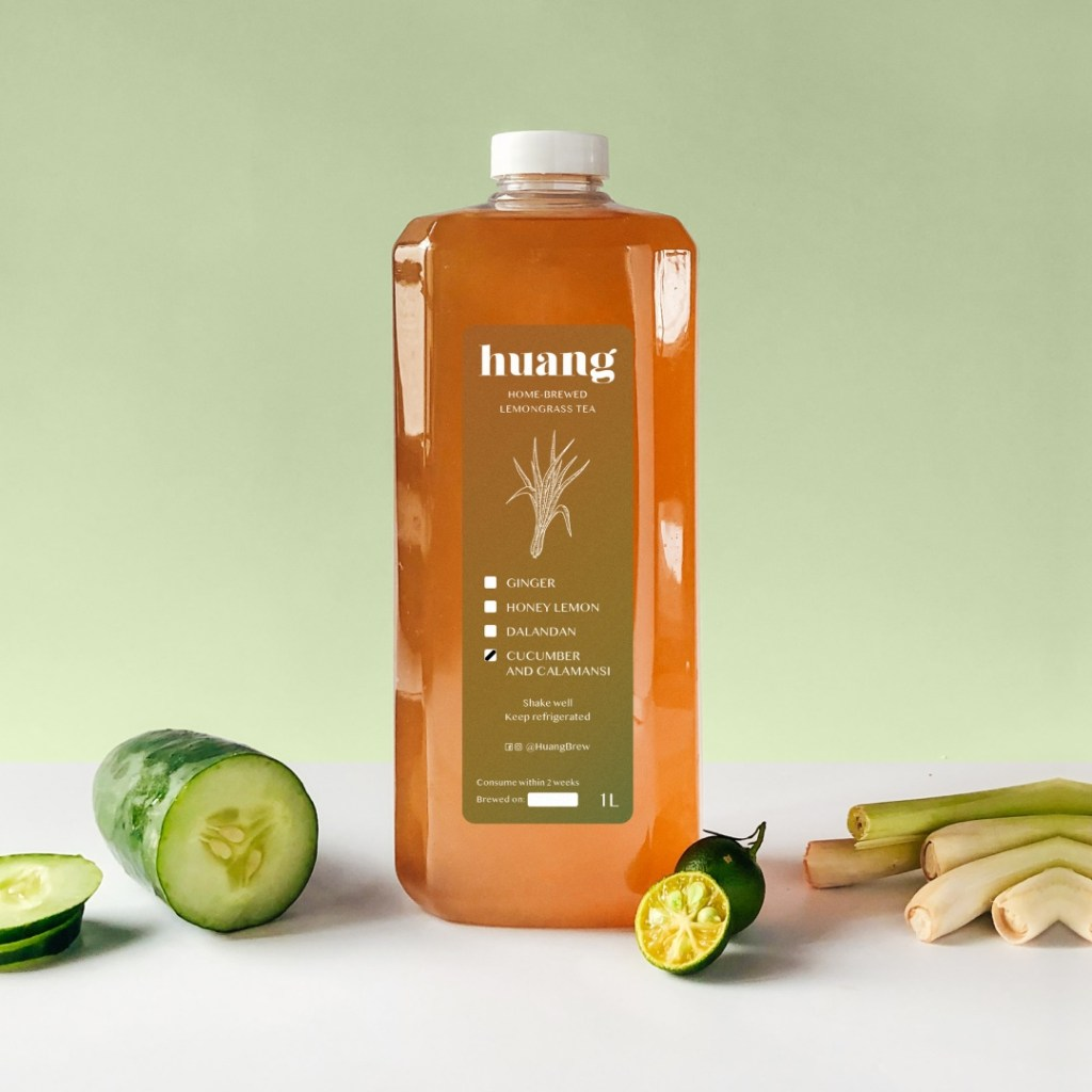 Huang Brew Cucumber and Kalamansi