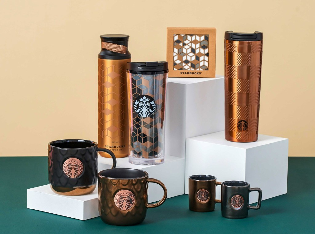 Starbucks Copper Gem Collection