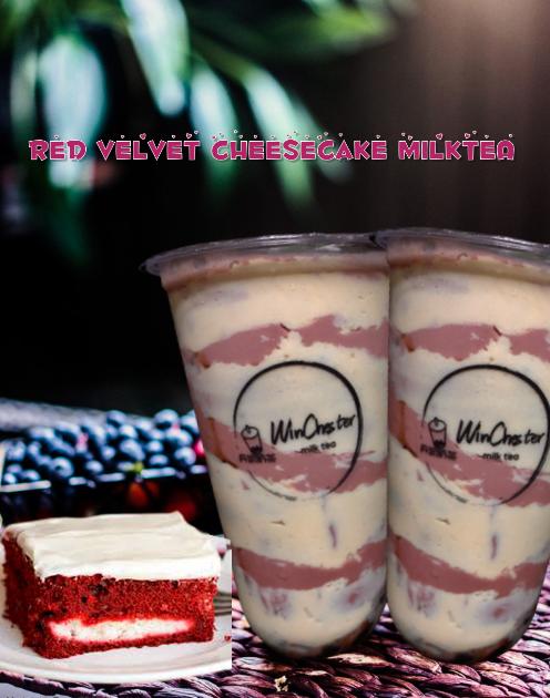 WinChester's House Milk Tea Red Velvet Milk Tea
