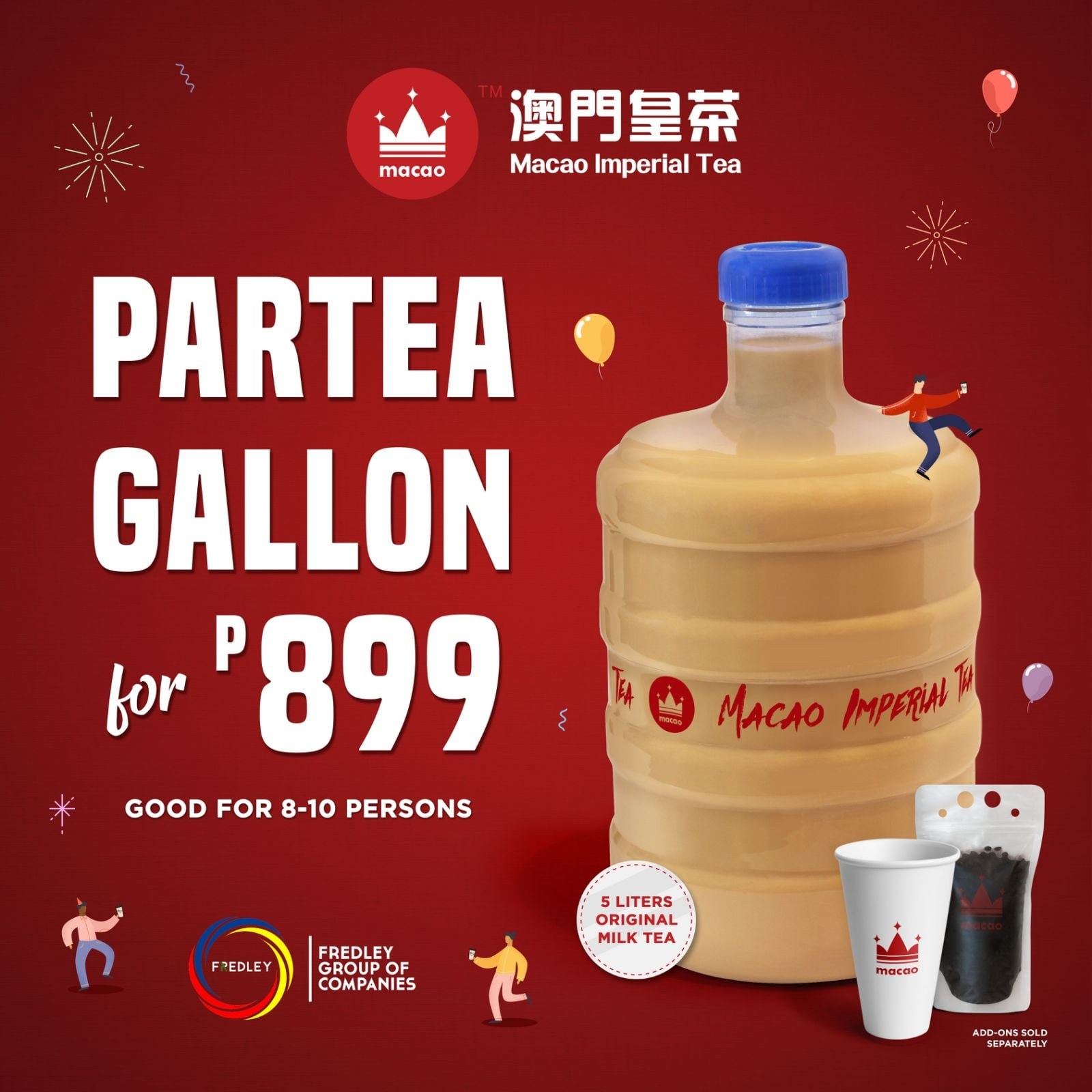Macao Imperial Tea Party Gallon