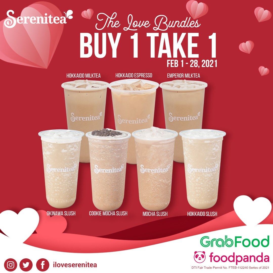 Serenitea Buy 1 Take 1 February 2021