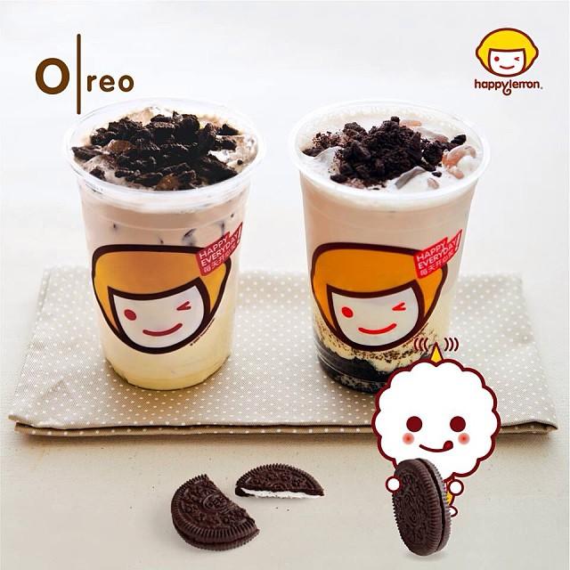 Oreo Milk Tea by Happy Lemon
